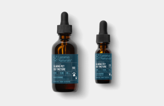 Calming Naturals CBD Pet Tincture from Lazarus