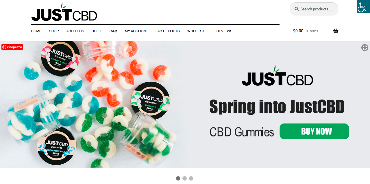 main page just cbd