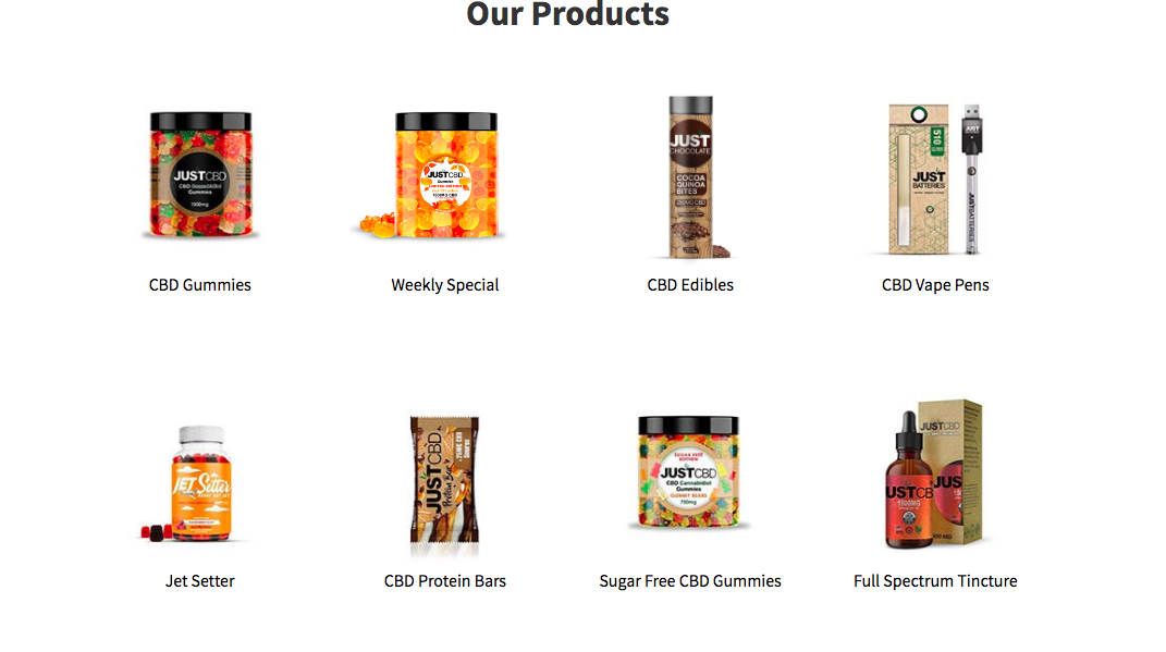 products just cbd store